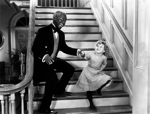 Bill 'Bojangles' Robinson & Shirley Temple