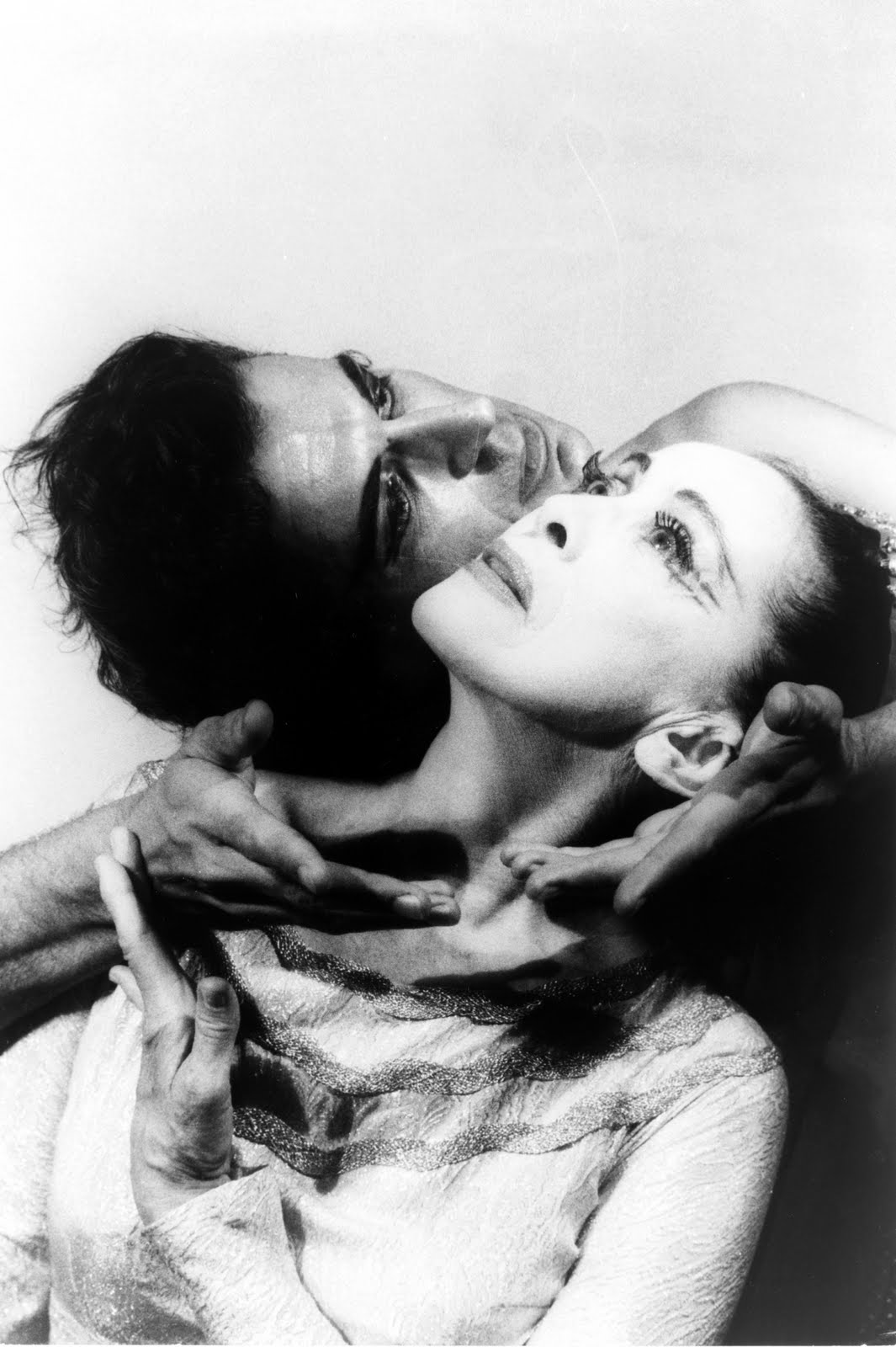 "Martha Graham & Bertram Ross in ""Visionary recital"", June 27 1961"