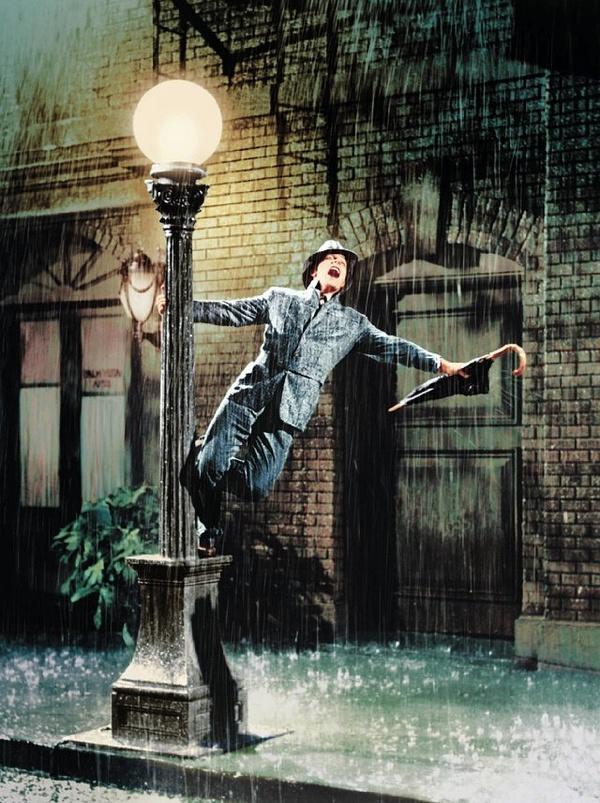Gene Kelly in Singin' in the Rain © MGM
