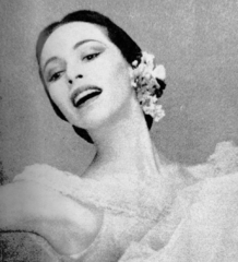 Maria Tallchief (Dance Magazine cover photo February 1954)