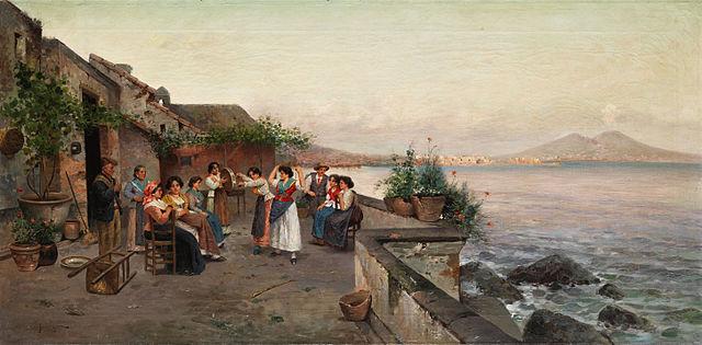 Tarantella in Napoli by Enrico Forlenza