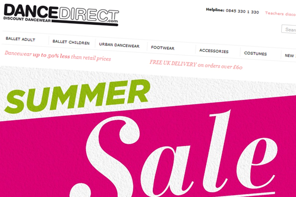 Dance Direct Summer Sale 2013