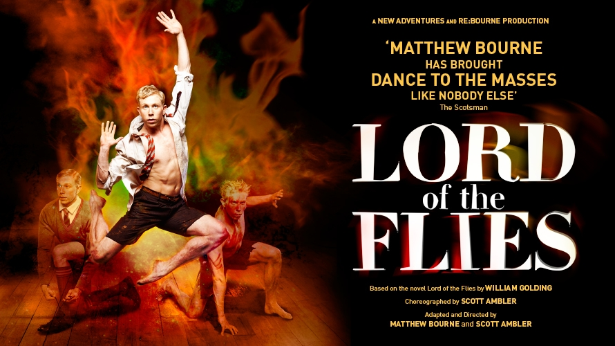 a review of the theater version of lord of the flies William golding's 20th century classic lord of the flies explodes onto the stage in a remarkable production direct from london's award-winning regent's park theatre, creators of the recent smash-hit, to kill a mockingbird.