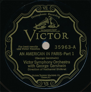 An American in Paris (First Recording)